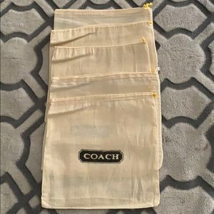 Coach Vintage Dust Bag for small wallets & belt